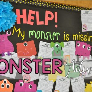 Monster Activities for the classroom from Fun in First