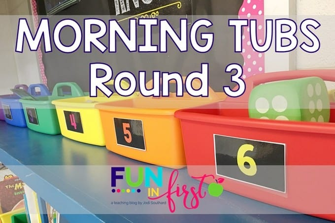 Morning Tub Ideas from Fun in First