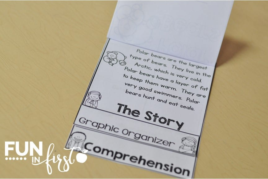 These Flip and Read booklets are a fun way to work on reading comprehension.