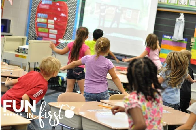 5 ways to incorporate movement into your classroom.