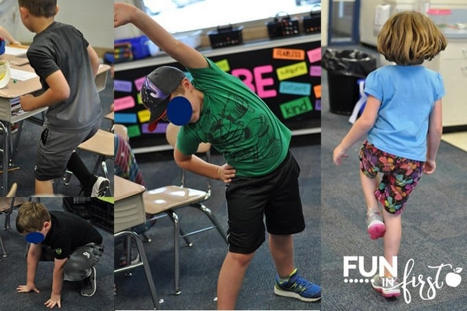 5 Ways to get students up and moving throughout the day.