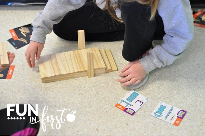 These Keva Brain Builders are a great addition to Morning Tubs.  This post contains so many ideas of items to include in Morning Tubs.