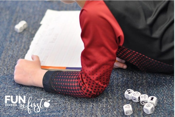 Story Cubes are a great addition to morning tubs in your classroom.  This post contains many other ideas for morning tubs.