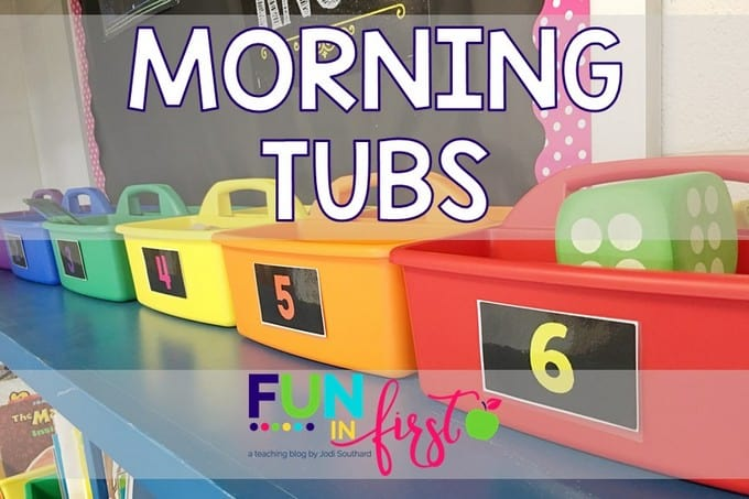 Morning Tubs - A great way to start the morning!
