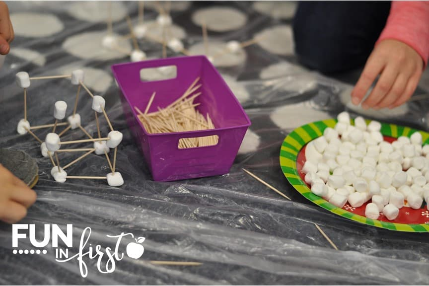 These ideas for transforming a classroom into the Arctic are perfect. Students will make an snowball structures using marshmallows.