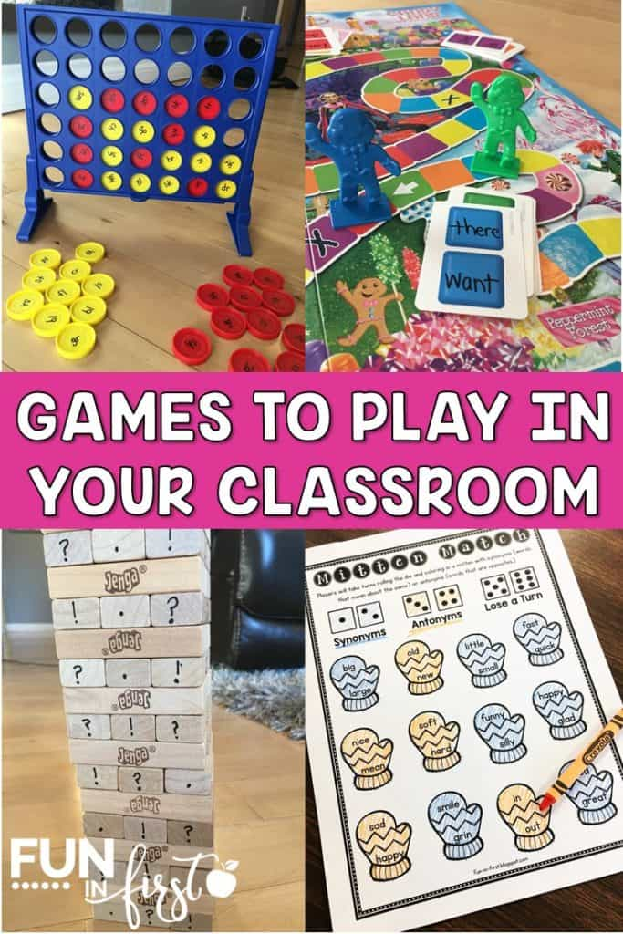 These games are the perfect way to focus on academics in your classroom while keeping students engaged.