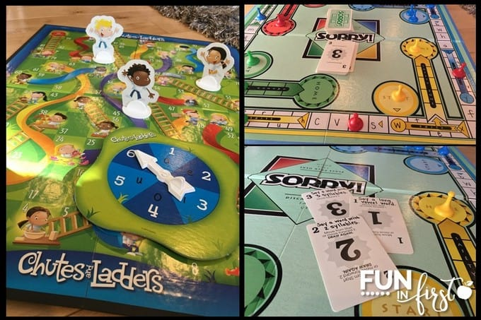 These ideas are perfect for giving classic board games an academic twist.