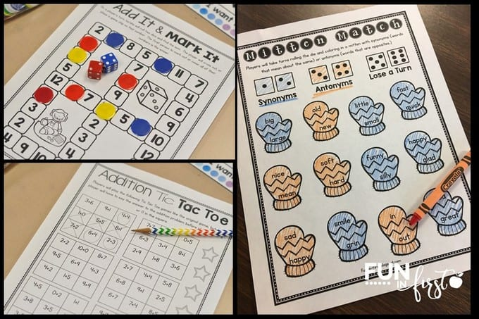 These No Prep Games are a perfect addition to the classroom. They are easy to use and review so many skills.