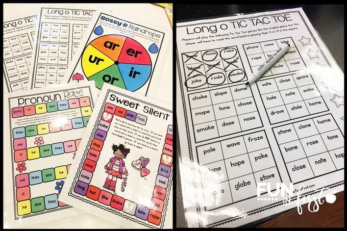 These No Prep Games are perfect for the classroom. They review so many different skills.