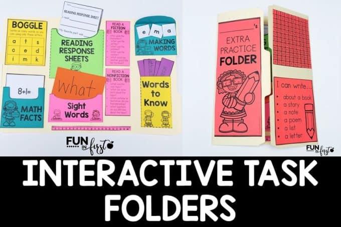 Interactive Task Folder