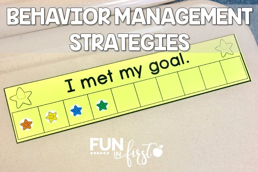 These behavior management strategies are great ideas to keep on hand for common behavior problems in the classroom.