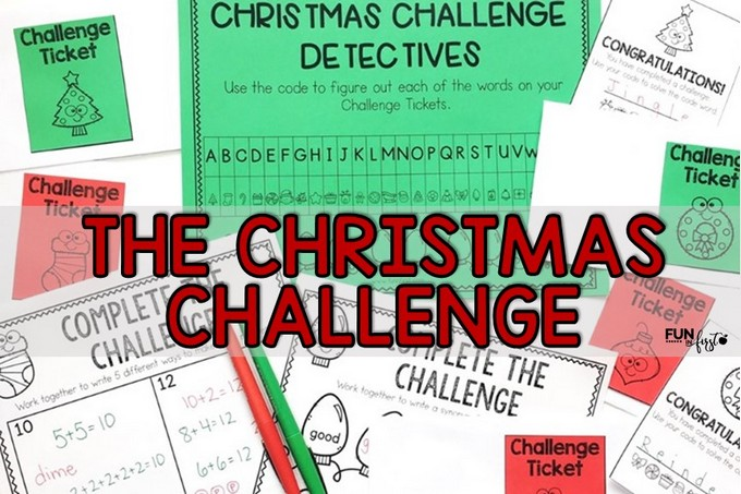 Christmas Challenge.The Christmas Challenge Fun In First