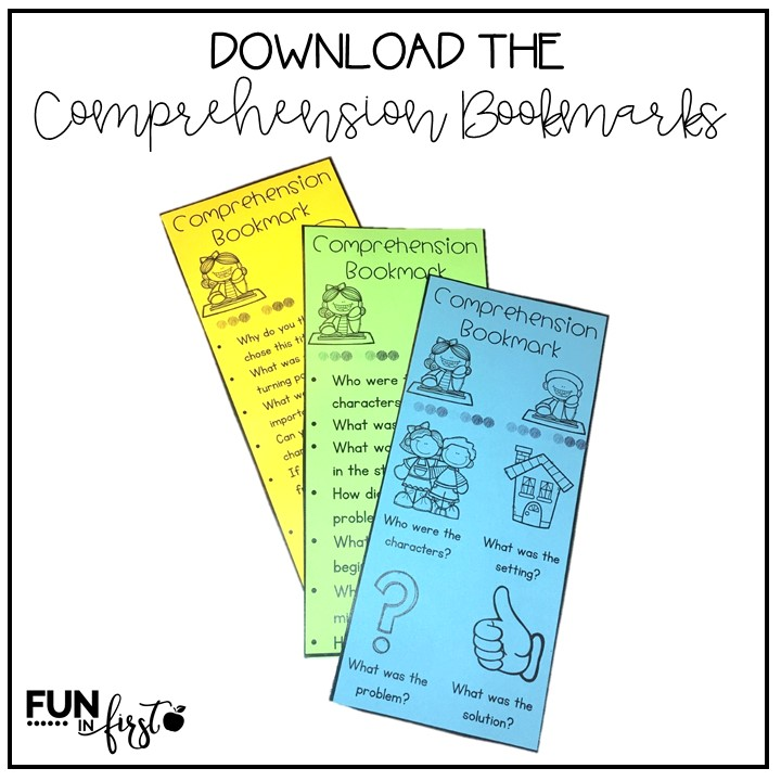 These FREE Comprehension Bookmarks are a great way to differentiate comprehension practice in your classroom.