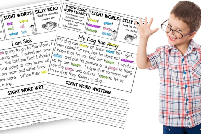 Sight Word Fluency in 5 Easy Steps