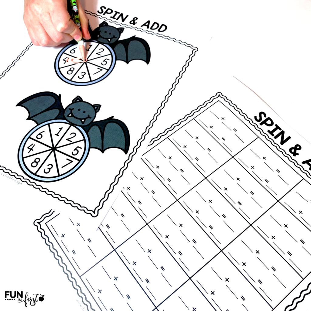 These bat-themed activities are perfect to use during a Bat Cave Day Classroom Transformation or anytime you are studying bats.  This packet includes reading, writing, math, and science activities that are geared towards 1st grade students.