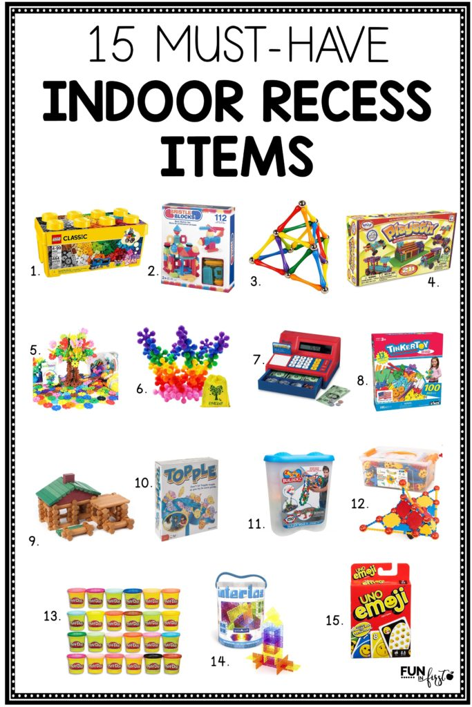 15 Must-Have Indoor Recess Items