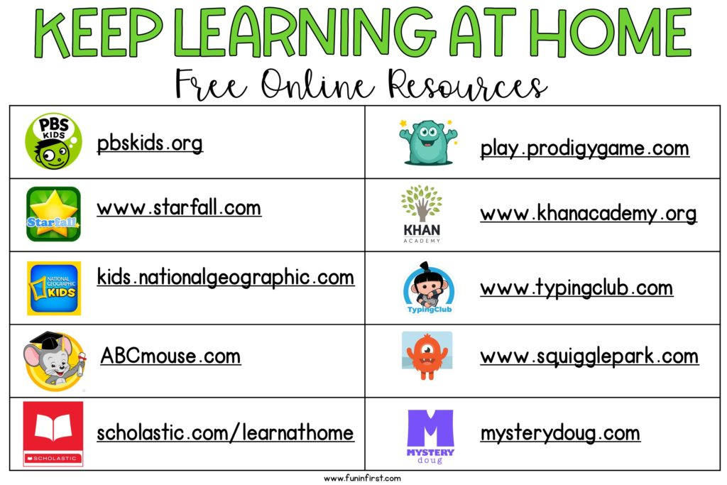 Online Learning At Home