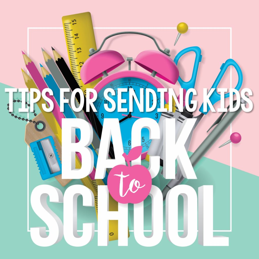 These ten tips for sending kids back to school next year are perfect for parents.