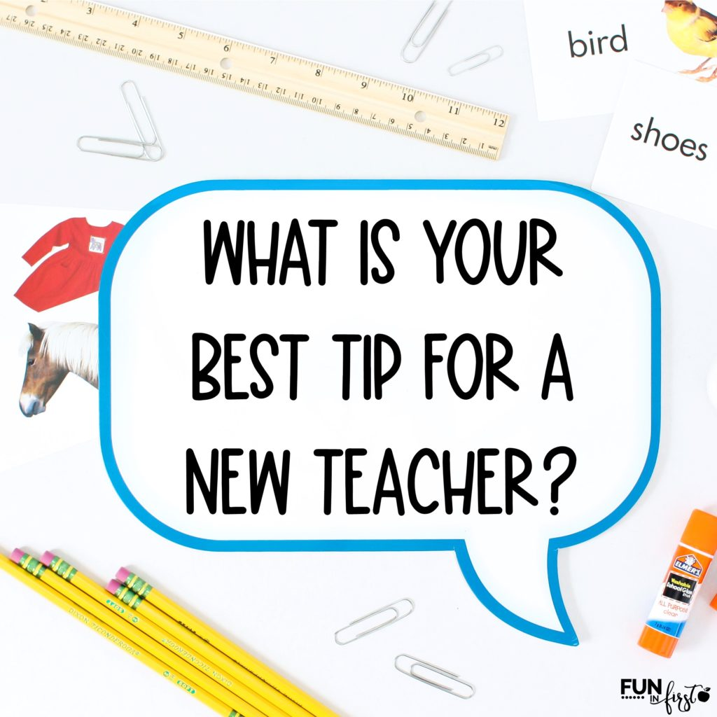 A list of wonderful tips for new teachers.