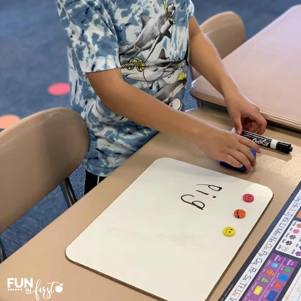 Help your students make the connection between phonemic awareness and phonics.