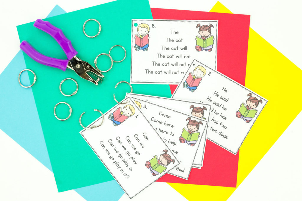 Sentence Trees are an effective way for students to practice reading fluency. This bundle includes many phonics skills as well as sight word practice. These allow students to build confidence with their reading.