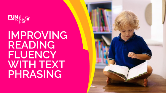 Improve reading fluency by teaching students how to read in text phrases.  These strategies are easy to implement into your reading instruction.