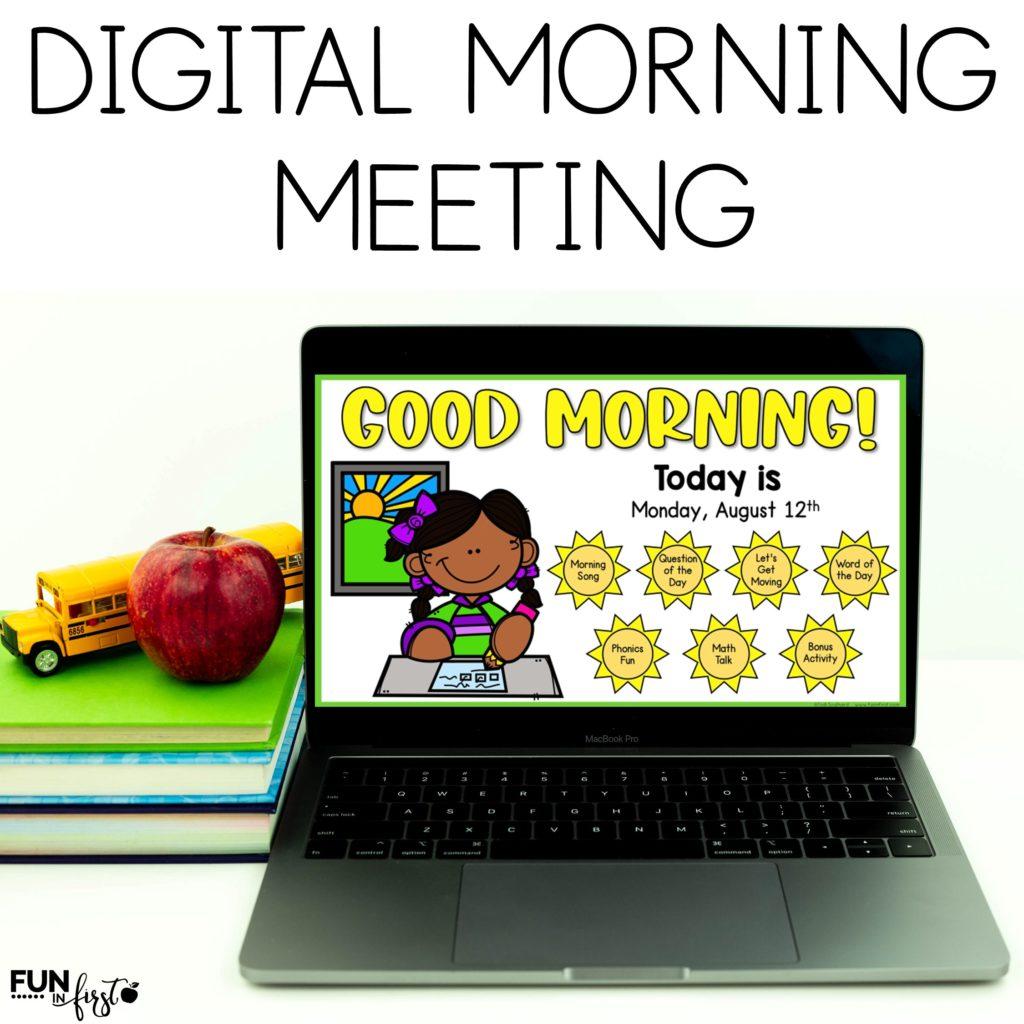 Try a FREE WEEK of Digital Morning Work.