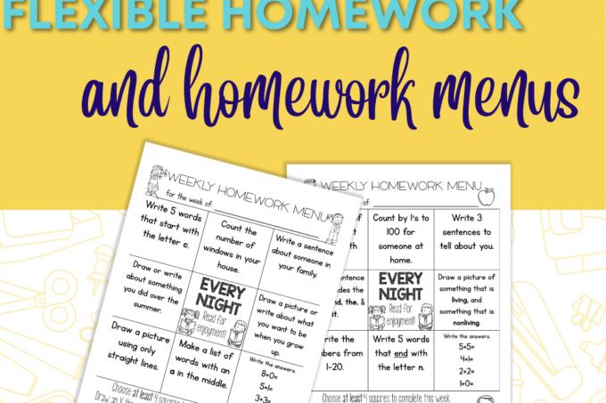 The benefits of flexible homework