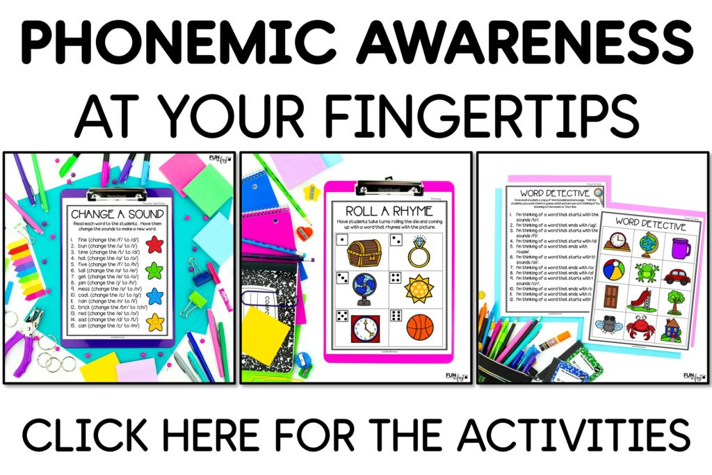 Phonemic awareness sets the foundation for efficient readers and writers. This packet includes everything you need to ensure that your students have strong phonemic awareness skills.