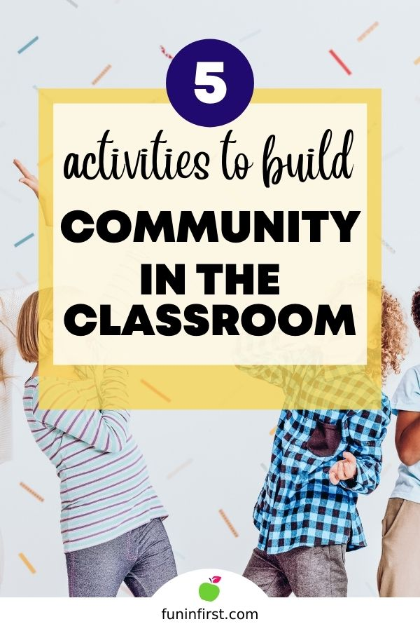 5 Activities to Build Community in the Classroom