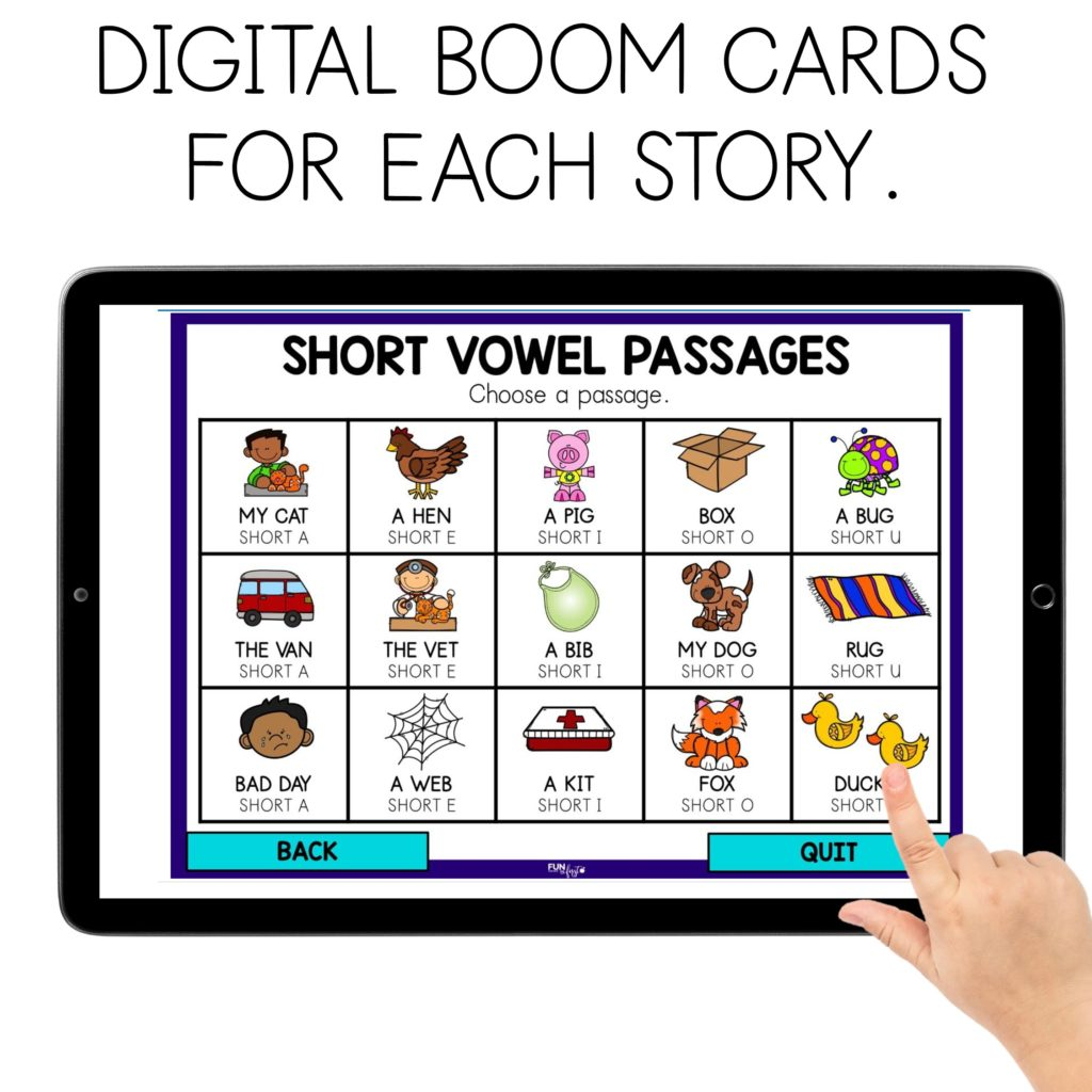 The Science of Reading — Decodable Text for Beginning Readers