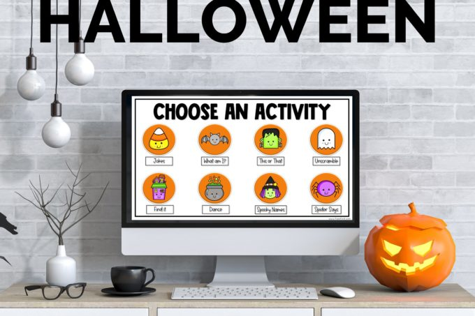 Digital Halloween Party